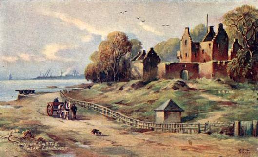 granton-castle-postcard